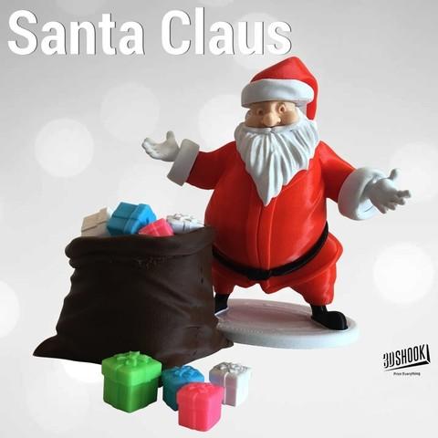 3D print model Santa Claus by 3DShook , 3DShook