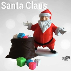 3D file Santa Claus by 3DShook , 3DShook