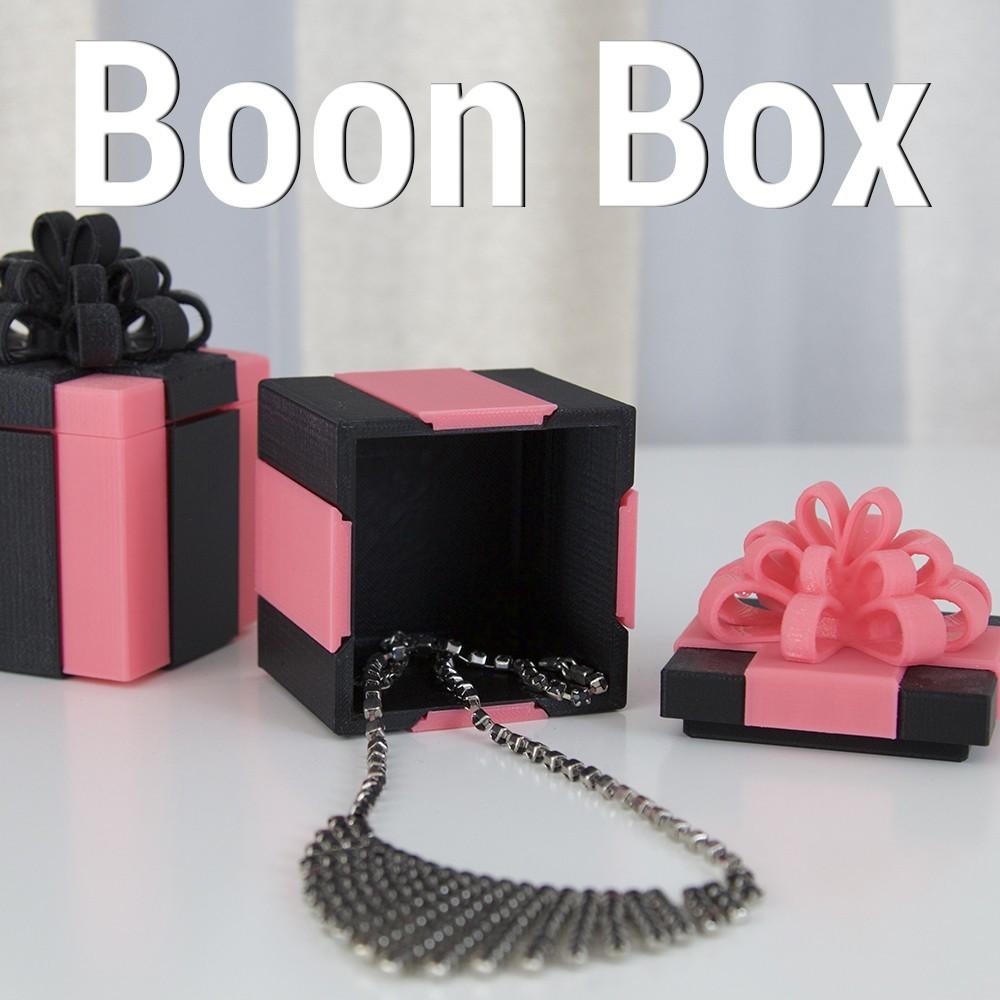 boon-box.jpg Download STL file Boon Box • 3D printing design, 3DShook