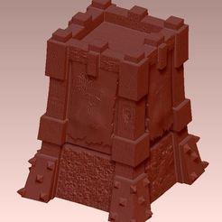 Descargar modelos 3D gratis choque de torres de arqueros de clan nivel 10, tour choque de arqueros de clan nivel 10, syl39