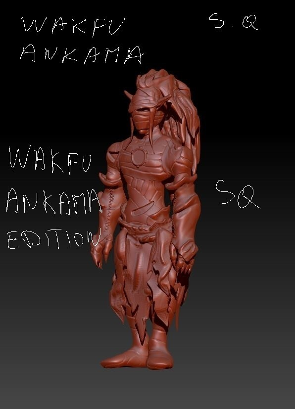 frisco.JPG Download free STL file frisco le cra wakfu • 3D printable model, syl39