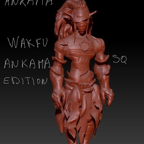 frisco2.JPG Download free STL file frisco le cra wakfu • 3D printable model, syl39