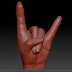 diseños 3d gratis la mano de hard rock, syl39
