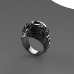 bague vendee3.jpg Download free STL file knighthood sold • 3D printing object, syl39