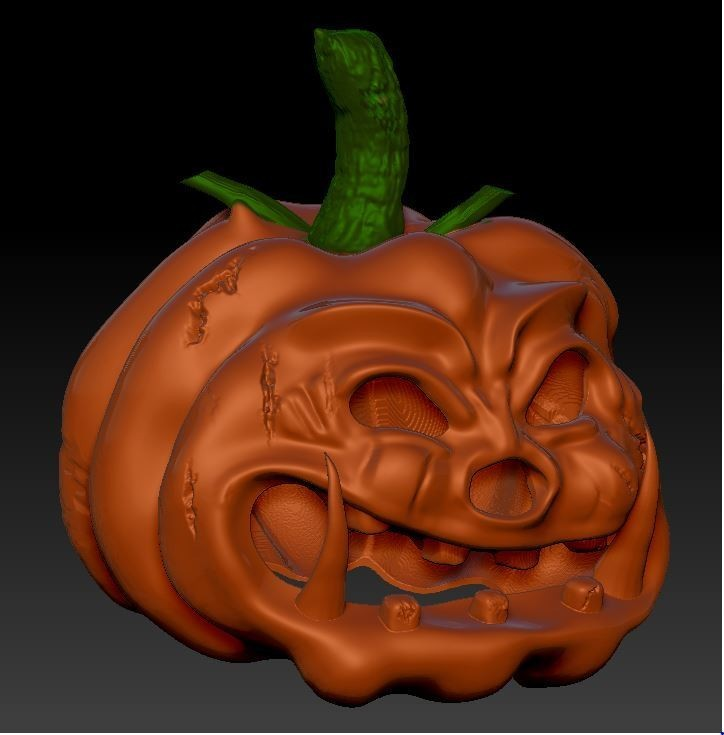 citrouille2.JPG Download free OBJ file halloween • Object to 3D print, syl39