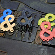 Free 3D printer model Ampersand Carabiner, 3DBROOKLYN