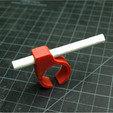 Free STL Cigarette Glove Clip, 3DBROOKLYN