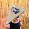 Free 3D printer files Pizza Bottle Opener | Updated, 3DBROOKLYN