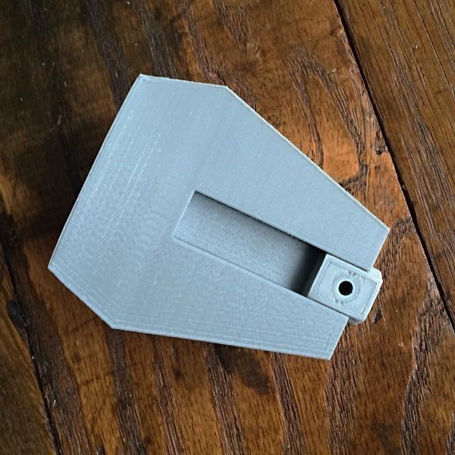 6.jpg Download free STL file Faceted Modular Wall Planter • 3D print template, 3DBROOKLYN