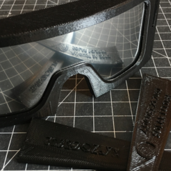 Free 3D printer designs Eclipse Glasses, 3DBROOKLYN