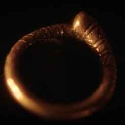 Free ERLENDUR'S RING (SEASON 4 EPISODE 3) STL file, 3DBROOKLYN