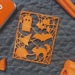 Download free 3D printer templates Halloween Snapout, 3DBROOKLYN