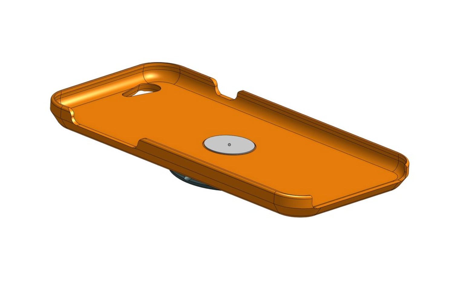 Capture d'écran 2017-06-16 à 11.40.48.png Download free STL file Fidget Spinner Phone Case • 3D printing template, 3DBROOKLYN