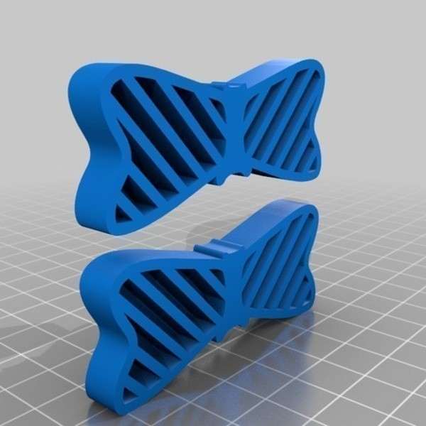 Noeud_papillon_pour_chaussures_3_-_Cults_-by_3DBK.jpg Download free STL file Bow Tie Your Shoes • 3D printing design, 3DBROOKLYN