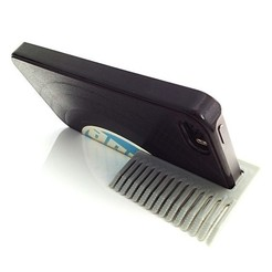 iphone_comb.jpg Download free STL file Phone Stand / Comb • 3D print model, 3DBROOKLYN
