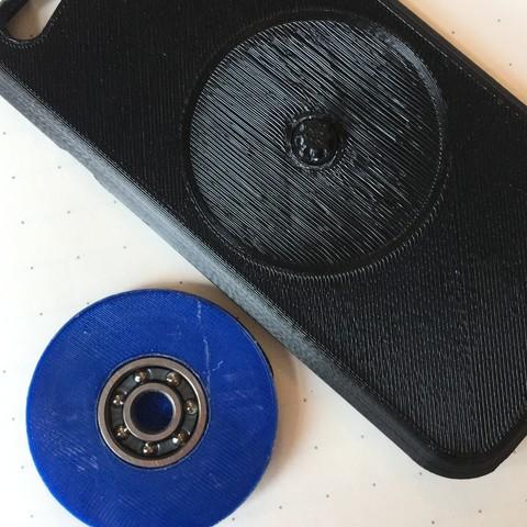 Free 3D print files iPhone Spinner Case, 3DBROOKLYN