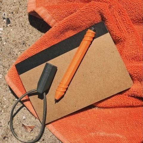 Free STL Bungee Pen, 3DBROOKLYN