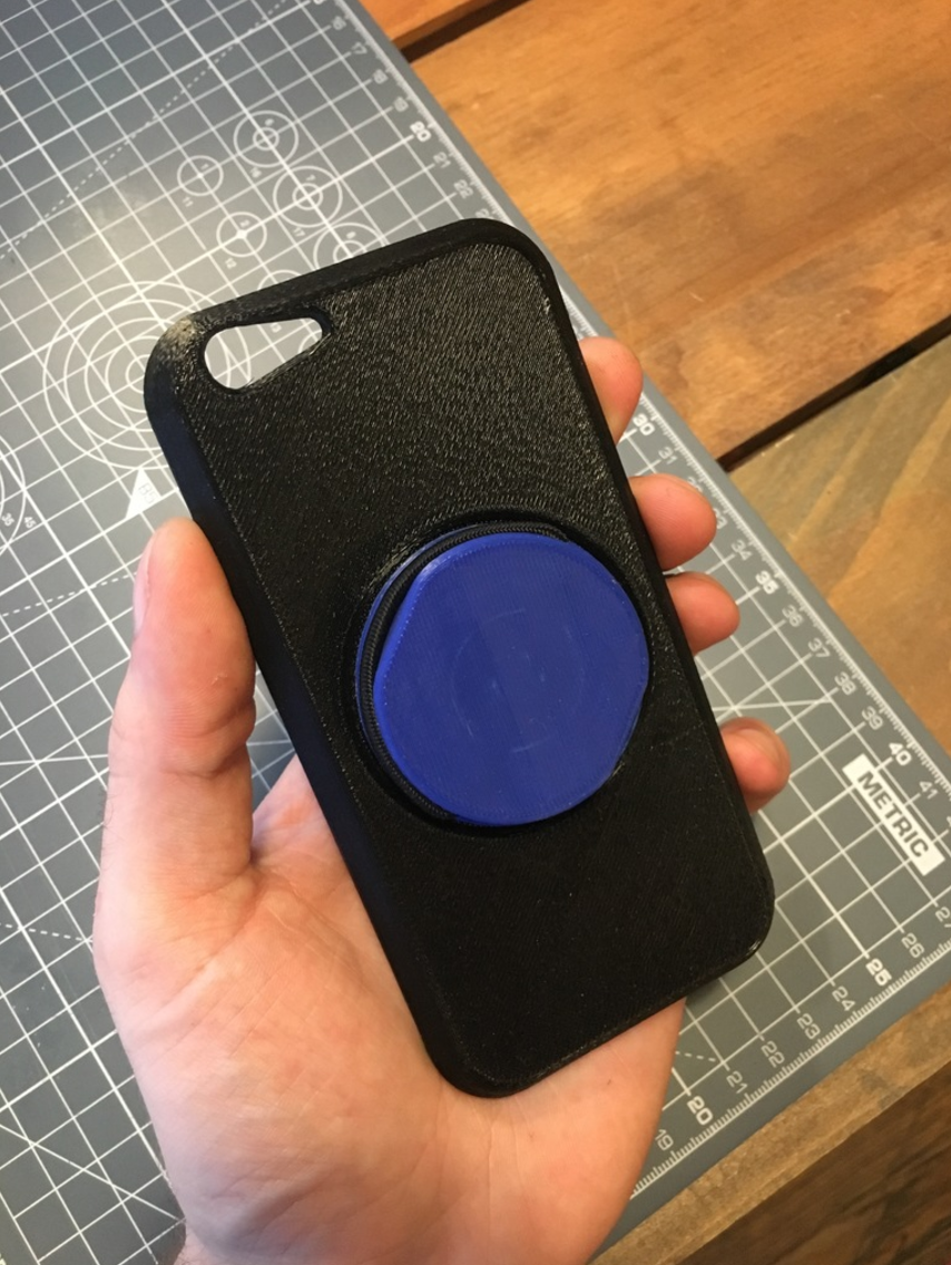 Capture d'écran 2017-06-16 à 11.41.23.png Download free STL file Fidget Spinner Phone Case • 3D printing template, 3DBROOKLYN