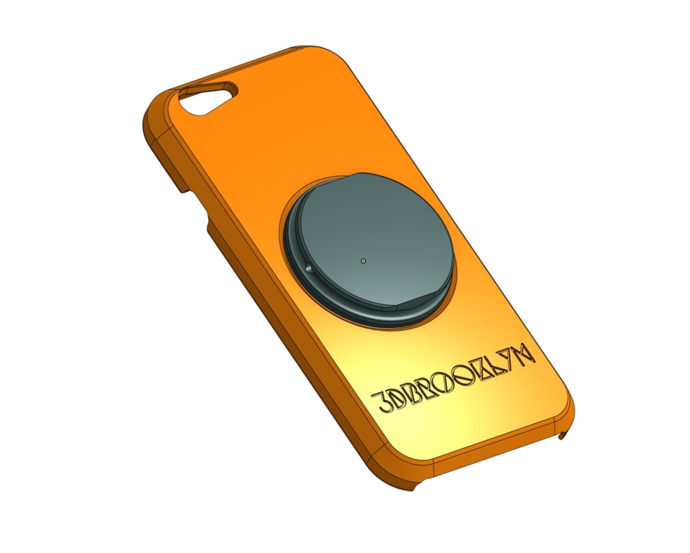 Capture d'écran 2017-06-16 à 11.40.55.png Download free STL file Fidget Spinner Phone Case • 3D printing template, 3DBROOKLYN