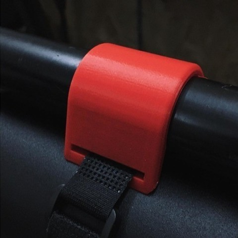 Free 3D printer designs Bike Bottle Strap, 3DBROOKLYN