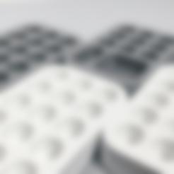 Download free 3D printer files Altoids Tin Paint Palette, 3DBROOKLYN