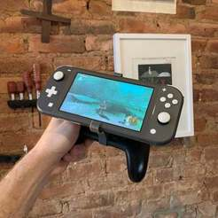 Download free STL file Switch Lite Pro Controller Mount • 3D printable design, 3DBROOKLYN