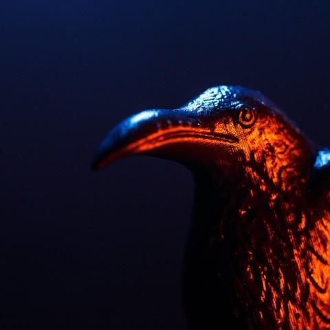 VIKINGS_3D_PROPHECY_EPISODE_416-5.jpg Download free STL file Raven - 3D Prophecy - Season 4, Episode 16 - Crossing • 3D printable template, 3DBROOKLYN
