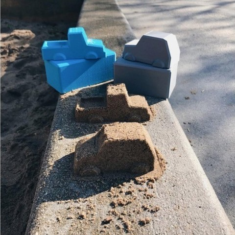 Free stl files Car Sand Molds, 3DBROOKLYN