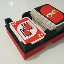 Photo 1.jpg Download STL file Box for UNO game • 3D printing template, nono61