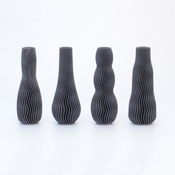 3D_printed_Vase_Martin_Zampach_Cults.jpg Télécharger fichier STL COLLECTION DE VASES À VAGUES • Design pour imprimante 3D, martin_zampach