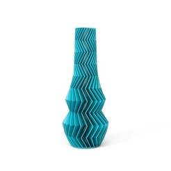 ZIG-ZAG-01-FRONT-TYRQUISE.jpg Download STL file ZIGZAG VASE 01 • Model to 3D print, martin_zampach