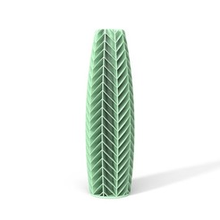 TOWERS-03-FRONT-PASTEGREEN.JPG Download STL file TOWERS VASE 03 • 3D print template, martin_zampach