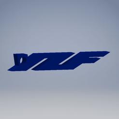 Imprimir en 3D gratis Llavero para moto Yamaha YZF, Noah