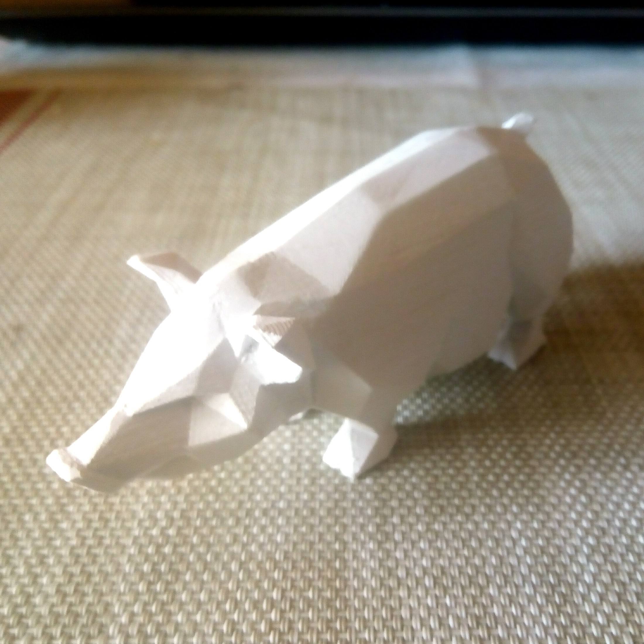 pig 3d printing.jpg Download STL file Pig low poly • 3D printing model, 3dpark