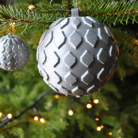 Download free STL file Christmas bauble • 3D printable template, Maker_at_heart