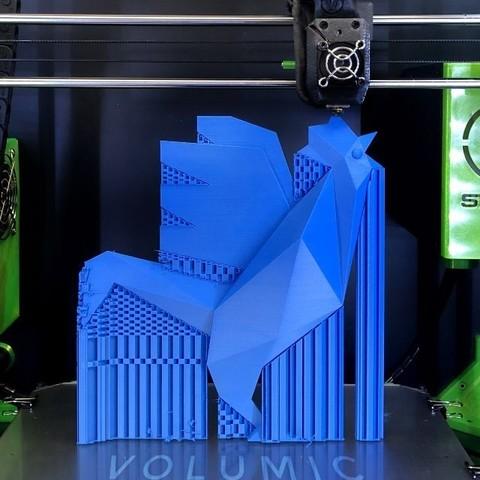 imprimante-3d-professionnelle-francaise-1.jpg Télécharger fichier STL gratuit Le Coq officiel de la French Fab à imprimer en 3D • Objet pour impression 3D, Volumic3D