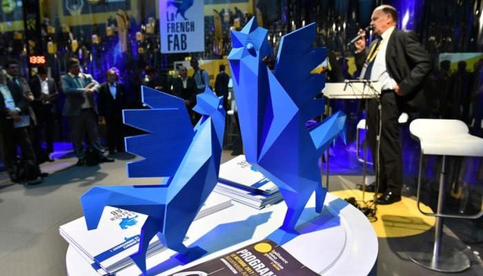 frenchfab3-1.jpg Télécharger fichier STL gratuit Le Coq officiel de la French Fab à imprimer en 3D • Objet pour impression 3D, Volumic3D