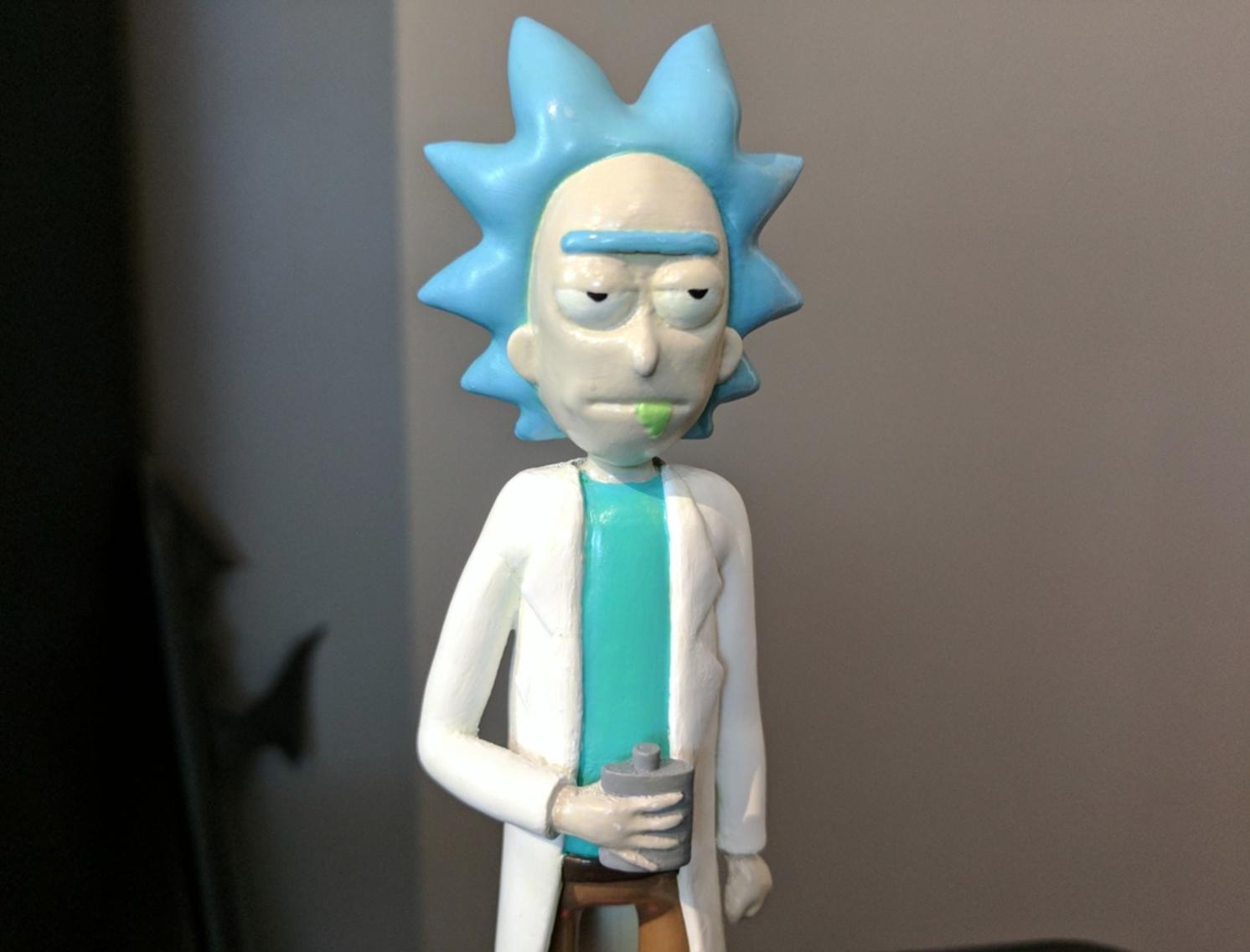 Capture d'écran 2017-02-25 à 00.41.04.png Download free STL file Rick Sanchez [Rick and Morty] • 3D print model, ChaosCoreTech
