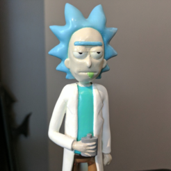 Download free STL file Rick Sanchez [Rick and Morty] • 3D print model, ChaosCoreTech