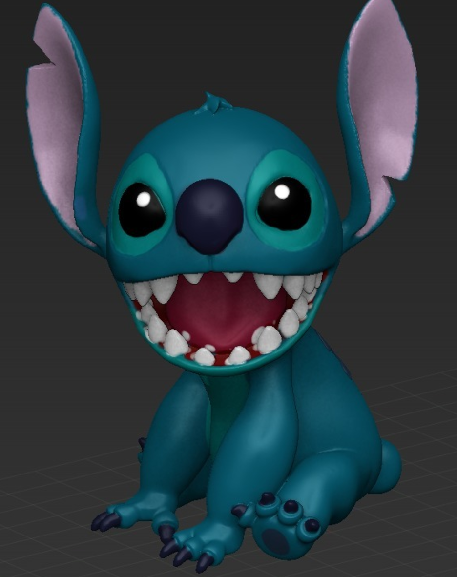 Lilo and Stitch 3D printing 3D printed impression 3D Imprimante 3D fichier 3D gratuit Cults4.png Download free STL file Stitch [Lilo and Stitch] • 3D printable template, ChaosCoreTech