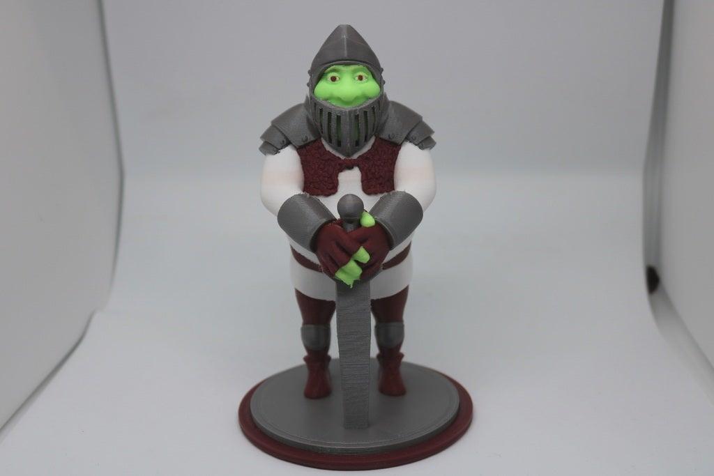 a4c5672886e686b4c3cf388be7497865_display_large.jpg Télécharger fichier STL gratuit Shrek en armure (prêt pour MMU) • Design pour imprimante 3D, ChaosCoreTech