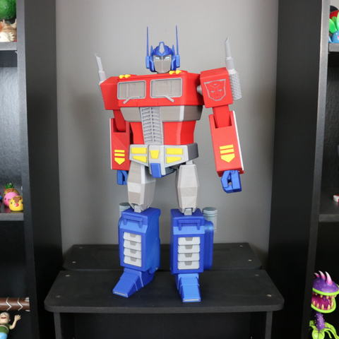 Free stl Big Optimus Prime! - Multi Material Model, ChaosCoreTech