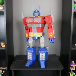 Download free STL Big Optimus Prime! - Multi Material Model, ChaosCoreTech