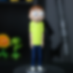 RM_Stand.stl Télécharger fichier STL gratuit Morty Smith [Rick et Morty] • Design pour imprimante 3D, ChaosCoreTech