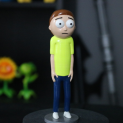 Free 3d printer designs Morty Smith [Rick and Morty], ChaosCoreTech