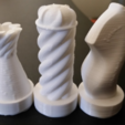 Download free STL file Creative/Weird Chess Set • Object to 3D print, ChaosCoreTech