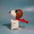 STL gratis Figura Piloto Snoopy - Barón Rojo, ChaosCoreTech