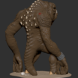 "Download 3D printing templates ""Pit Monster"" 3D Printing STL, ChaosCoreTech"