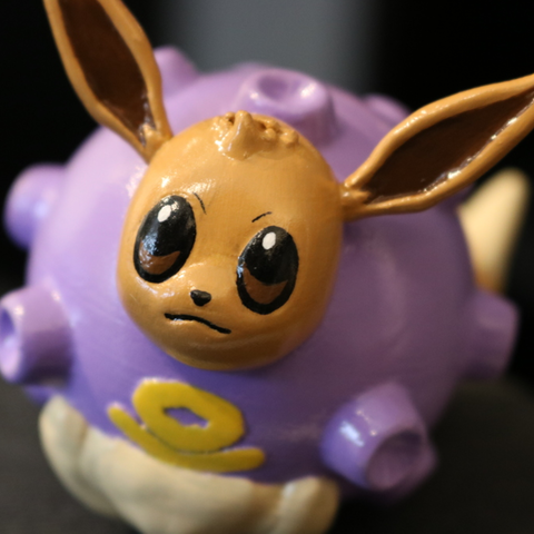 Free Koffing + Eevee = Covfefe! STL file, ChaosCoreTech