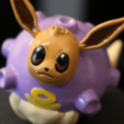 Download free 3D printer designs Koffing + Eevee = Covfefe!, ChaosCoreTech